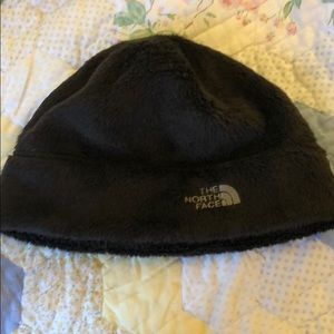 Brown north face hat
